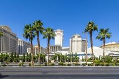 Caesar's Palace on the Vegas Strip Royalty Free Stock Photo