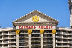 Caesar's Palace on the Vegas Strip Royalty Free Stock Image
