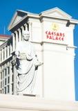 Caesar's Palace on the Vegas Strip Royalty Free Stock Photos