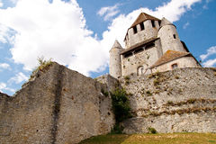 The Caesar's Tower, Provins Stock Images