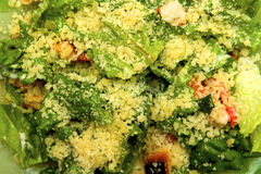 Caesar Salad Immagine Stock Libera da Diritti