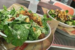 Caesar Salad Fotografia Stock