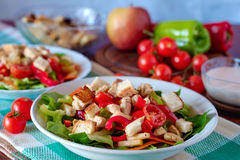 Caesar Salad Fotos de archivo libres de regalías