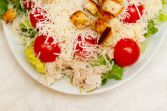 Caesar Salad Lizenzfreie Stockfotos
