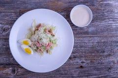 Caesar Salad Fotografía de archivo libre de regalías