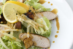 Caesar salad with chicken Royalty Free Stock Photography