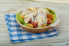 Caesar salad with chicken Stock Photos