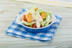 Caesar salad with chicken Royalty Free Stock Photos
