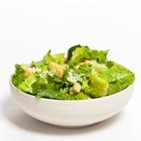 Caesar Salad con i crostini fotografia stock libera da diritti