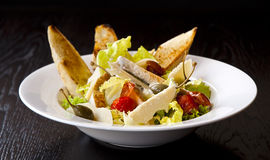 Caesar salad with copyspace Royalty Free Stock Photography