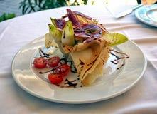 Caesar Salad delicioso con una diferencia Fotografía de archivo