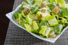 Caesar Salad detail Royalty Free Stock Image