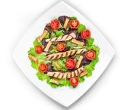 Caesar salad dish close up. Royalty Free Stock Photo