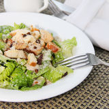 Caesar Salad with greens and chicken Royalty Free Stock Photo