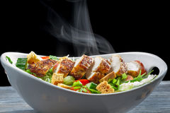 Caesar Salad Made of Fresh Ingredients Royalty Free Stock Photography