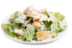 Caesar salad without meat Stock Photography
