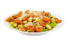 Caesar salad plate Stock Photos
