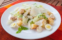 The Caesar salad Stock Image