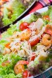 Caesar Salad with shrimps on an Stock Photo