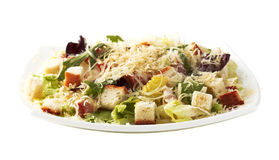 Caesar salad. On a white background. Stock Photography