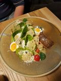 Caesar salat Lizenzfreies Stockbild