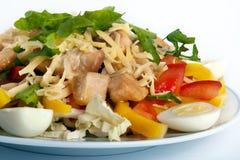 Caesar-Salat Stockbild