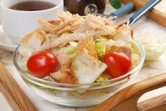 Caesar-Salat Stockfoto