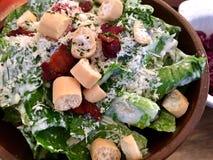 Caesar-Salat Lizenzfreie Stockfotos