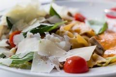 Caesar-Salat closup Stockfotos
