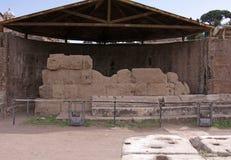 caesar tempel Arkivbild