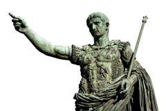 Caesara Augustus, der erste Kaiser von altem Rom Lizenzfreie Stockbilder