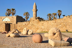 Caesarea. Foto de archivo libre de regalías