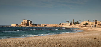 Caesarea Stock Afbeelding