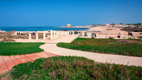 Caesarea Imagenes de archivo