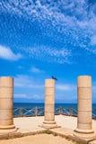 Caesarea, alte Spalten lizenzfreie stockfotos