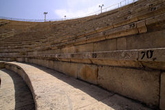 Caesarea Amphitheater Royalty Free Stock Photography