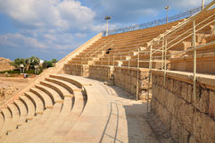 Caesarea amphitheater . Stock Image