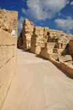 Caesarea amphitheater passage. Royalty Free Stock Image