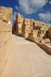 Caesarea amphitheater passage. Royalty Free Stock Image