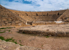 Caesarea Ancient theatre. In the north Israel Stock Image