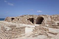 ?aesarea Palestina, Israël Royalty-vrije Stock Foto's