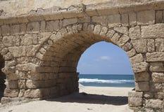 ?aesarea Palestina, Israel Foto de Stock Royalty Free
