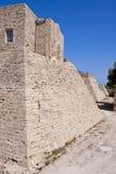 Caesarea ściana Zdjęcia Stock