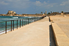 Caesarea cost. Royalty Free Stock Photography