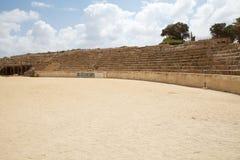 Caesarea fördärvar Royaltyfri Fotografi