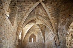 Caesarea fördärvar Arkivbild