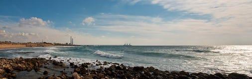 Caesarea, Israel. Lizenzfreie Stockbilder