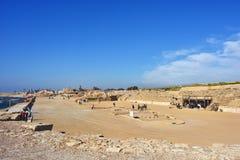 Caesarea, Israel Royalty Free Stock Photography