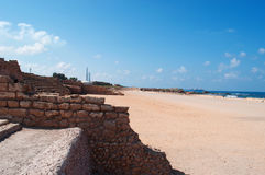 Caesarea, Israel, Middle East Royalty Free Stock Image