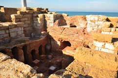 Caesarea Maritima Imagens de Stock Royalty Free